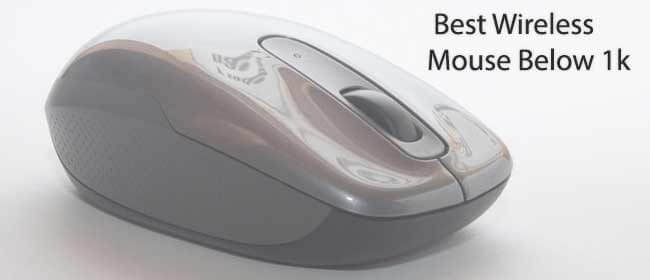 Best Wireless Mouse Under 1000 Rs in India