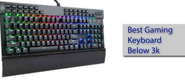 Best Gaming Keyboard Under 3000 Rs