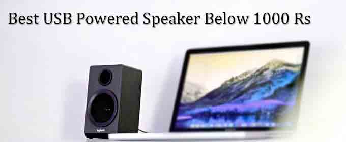 Best Desktop Speaker Under 1000 Rs