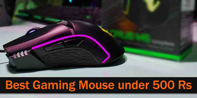 Best Gaming Mouse under 500 Rs